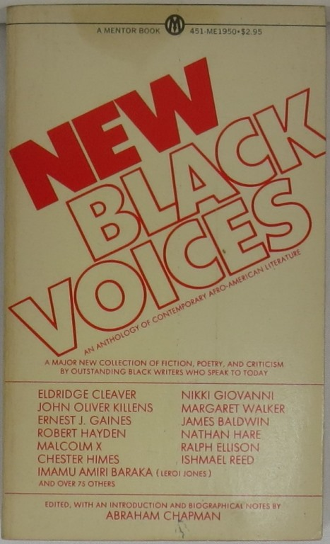Image for New Black Voices: An Anthology of Contemporary Afro-American Literature