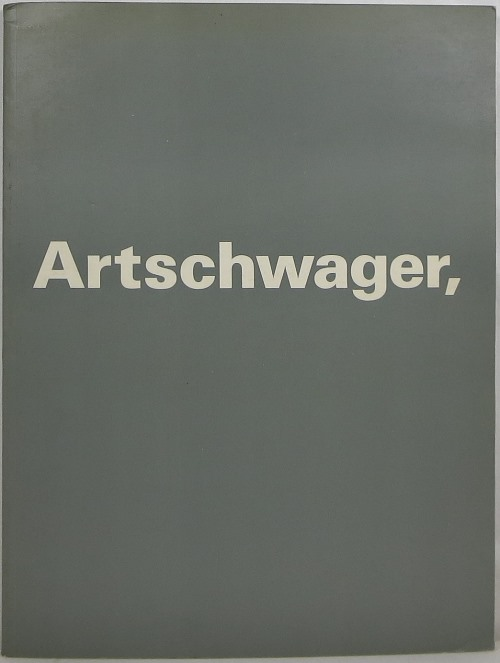 Image for Artschwager, Richard