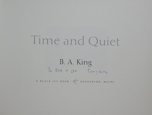 Image for Time and Quiet