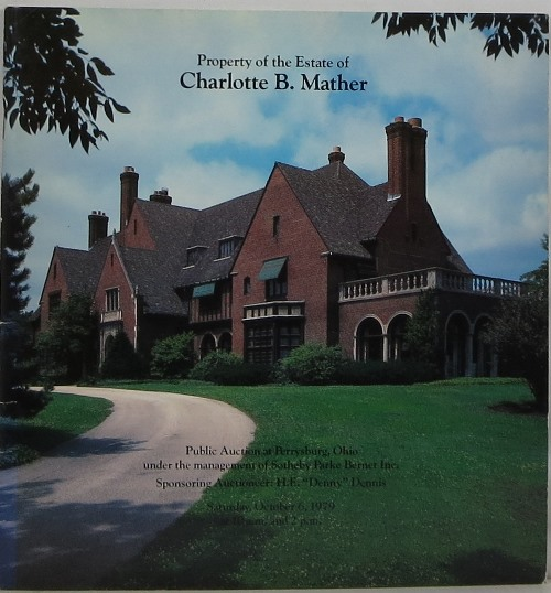 Image for Property of the Estate of Charlotte B. Mather at Perrysburg, Ohio, October 6, 1979