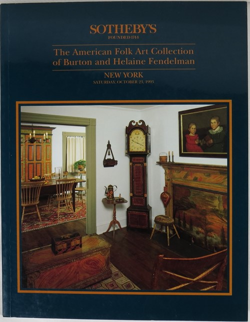 Image for The American Folk Art Collection of Burton and Helaine Fendelman, New York, October 23, 1993