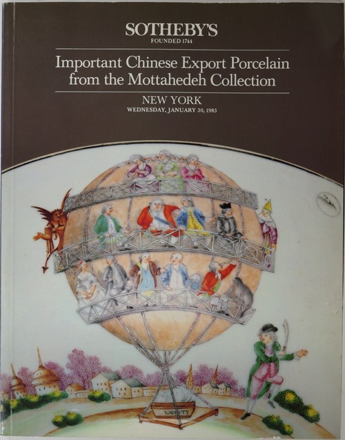 Image for Important Chinese Export Porcelain from the Mottahedeh Collection, New York, January 20, 1985