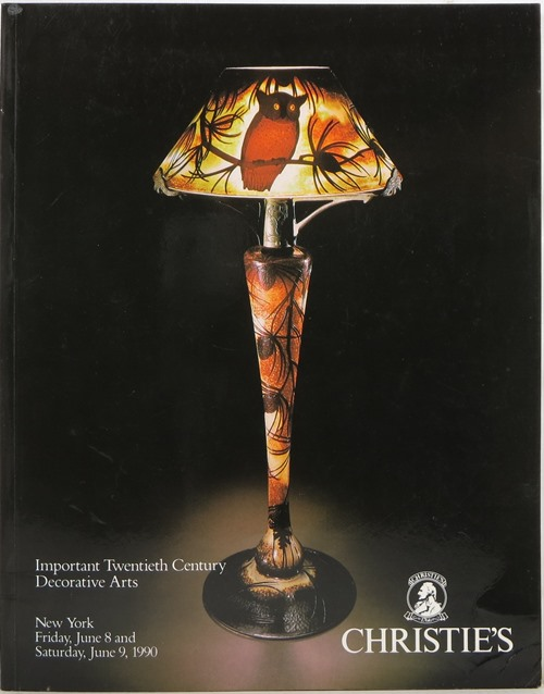 Image for Important Twentieth Century Decorative Arts, New York, June 8 and 9, 1990