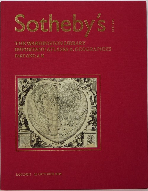 Image for The Wardington Library, Important Atlases & Geographies, Part One, London, 18 October 2005