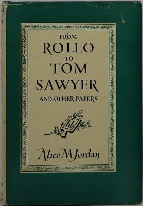 Image for From Rollo to Tom Sawyer and Other Papers