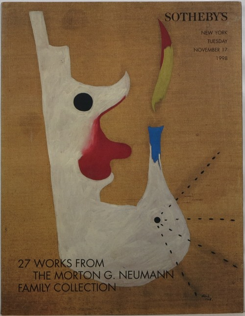 Image for 27 Works From the Morton G. Neumann Family Collection, New York, November 17, 1998