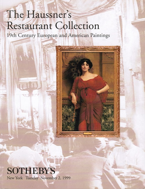 Image for The Haussner's Restaurant Collection: 19th Century European and American Paintings, November 2, 1999