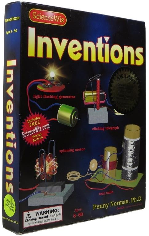Image for ScienceWiz Inventions