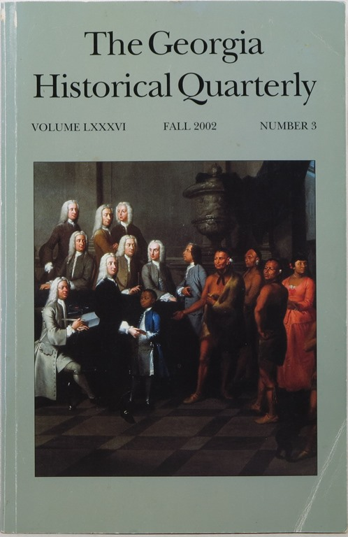 Image for The Georgia Historical Quarterly, Volume LXXXVI, Fall 2002, Number 3