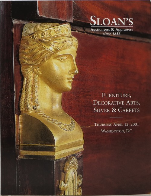 Image for Furniture, Decorative Arts, Silver & Carpets, April 21, 2001, Washington, DC (Sale 916)