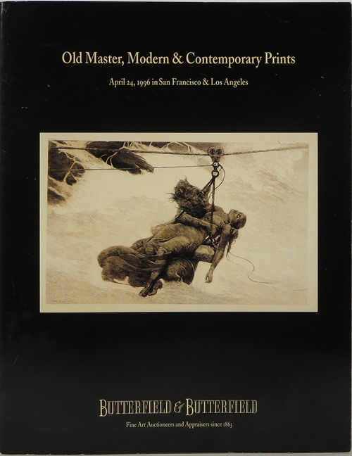 Image for Old Master, Modern & Contemporary Prints, April 24, 1996 / Modern, Contemporary & Latin American Art, April 25, 1966, San Francisco & Los Angeles