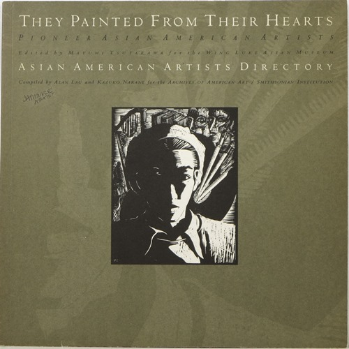 Image for They Painted From Their Hearts / Asian American Artists Directory