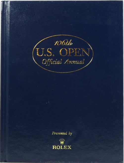 Image for 106th U. S. Open Official Annual