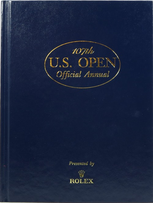 Image for 107th U. S. Open Official Annual