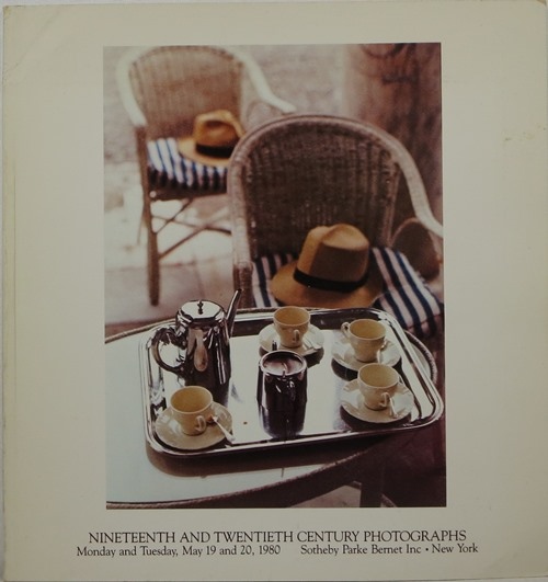 Image for Nineteenth and Twentieth Century Photographs, New York, May 19 and 20, 1980 [Sale 4382]