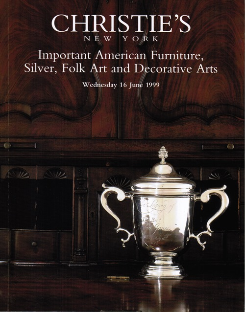 Image for Important American Furniture, Silver, Folk Art and Decorative Arts, New York, 16 June 1999 (Sale 9072)