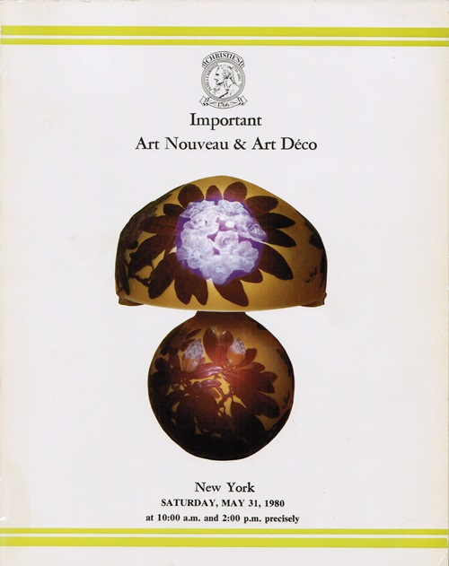 Image for Important Art Nouveau & Art Deco, New York, May 31, 1980