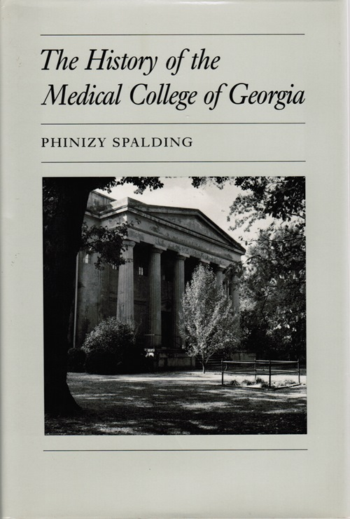 Image for The History of the Medical College of Georgia