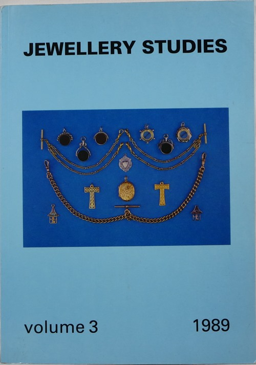 Image for Jewellery Studies Volume 3, 1989