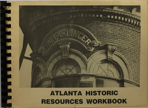 Image for Atlanta Historic Resources Workbook
