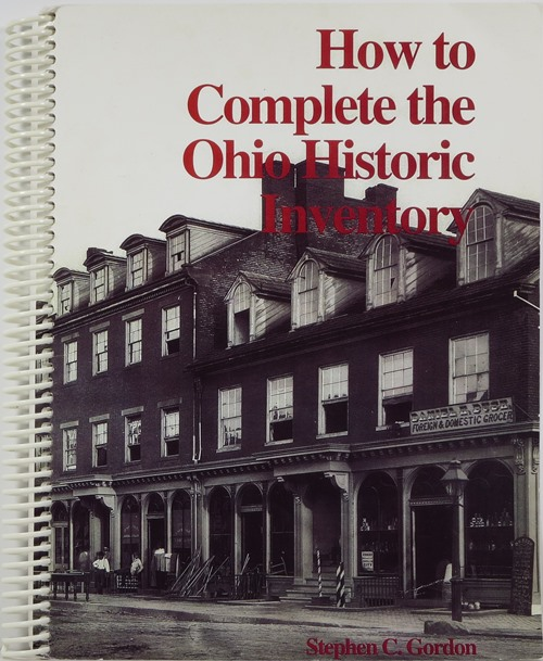 Image for How to Complete the Ohio Historic Inventory