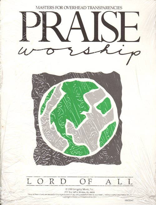 Image for Praise Worship Masters for Overhead Transparencies: Lord of All (HM021MT)