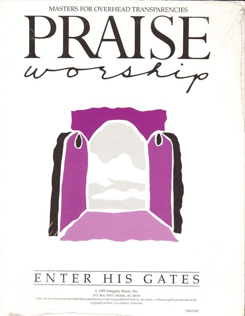 Image for Praise Worship Masters for Overhead Transparencies: Enter His Gates (HM022MT)