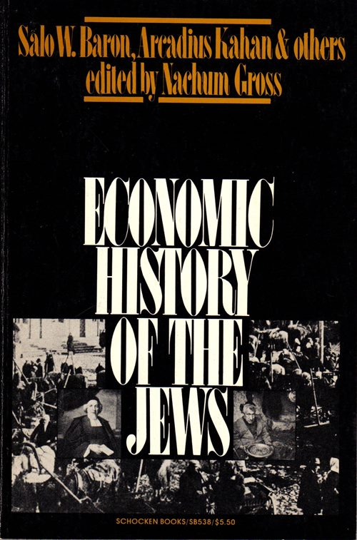 Image for Economic History of the Jews