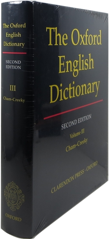 Image for The Oxford English Dictionary, Second Edition, Volume III, Cham - Creeky