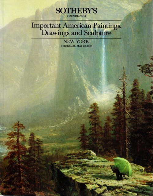 Image for Important American Paintings, Drawings and Sculpture, New York, May 28, 1987 (Sale 5584)