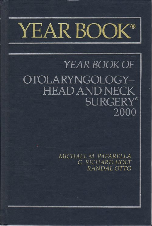 Image for 2000 Year Book of Otolaryngology--Head and Neck Surgery