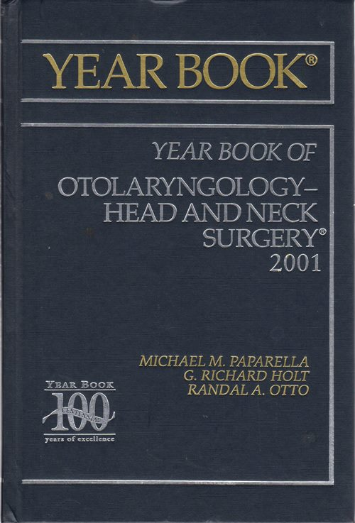 Image for 2001 Year Book of Otolaryngology--Head and Neck Surgery