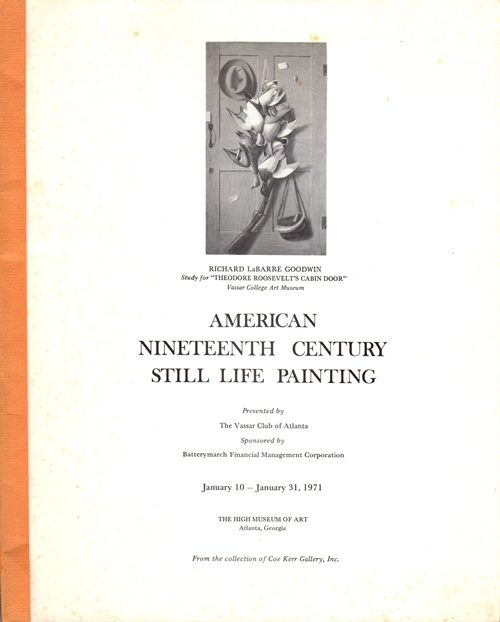 Image for American Nineteenth Century Still-Life Painting