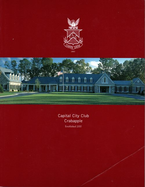 Image for Capital City Club Crabapple: A New Course for the New Millenium