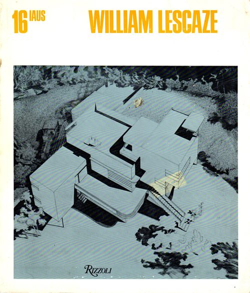 Image for William Lescaze (IAUS 16)