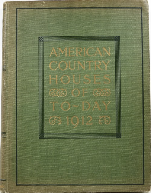 Image for American Country Houses of Today, 1912