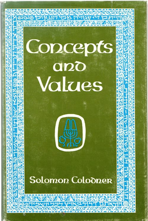 Image for Concepts and Values