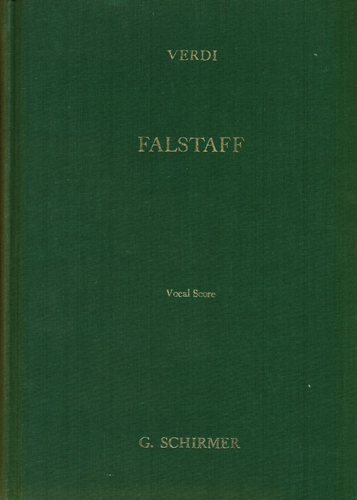 Image for Falstaff: Lyric Comedy in Three Acts