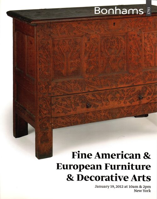 Image for Fine American & European Furniture & Decorative Arts, New York, January 19, 2012 (Sale 19530)