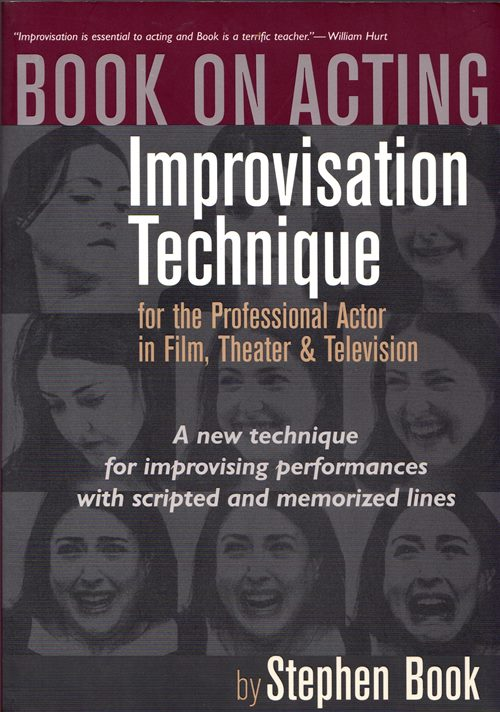 Image for Book on Acting: Improvisation Technique for the Professional Actor in Film, Theater & Television